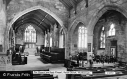 Guisborough, St Nicholas' Church, Chancel And Lady Chapel c.1965