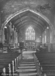 Guisborough, St Nicholas Church Interior 1932