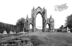 Guisborough, The Priory 1885