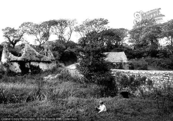 Gumfreston,Ruins and Mill 1890,Dyfed