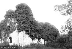Gumfreston, Scotsborough Ruins 1890