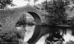 Ivelet Bridge c.1960, Gunnerside