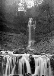 Ivelet Falls c.1935, Gunnerside
