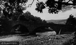 The Bridge c.1955, Gunnerside