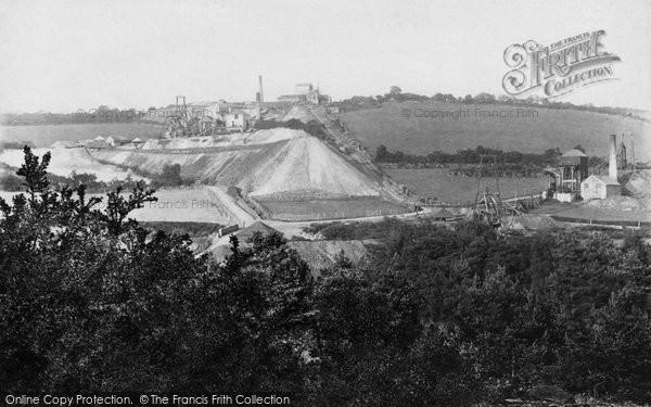 Photo of Gunnislake, Devon Great Consols Mine 'wheal Emma' 1893