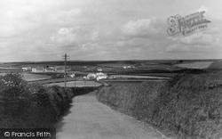From Church, Cove Road c.1960, Gunwalloe