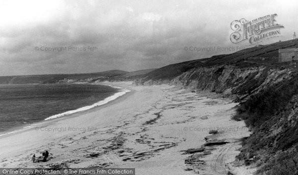 Gunwalloe, Loe Bar Sands c1960