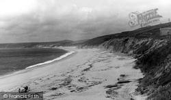 Loe Bar Sands c.1960, Gunwalloe