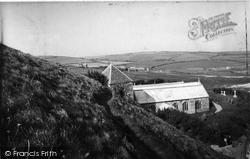 St Winnalloe's Church c.1960, Gunwalloe