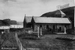 St Winwalloe's Church 1899, Gunwalloe