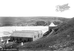 St Winwalloe's Church 1903, Gunwalloe