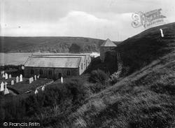 St Winwalloe's Church 1924, Gunwalloe