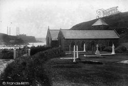 St Winwalloe's Church And Poldhu 1904, Gunwalloe