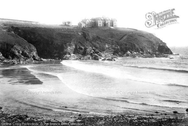 Gunwalloe, the Bay and Poldhu Hotel 1899