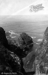 Gurnards Head, Sea Gull Rock 1890, Gurnard's Head