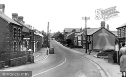 Gwaun-Cae-Gurwen, Carmel Street c.1955