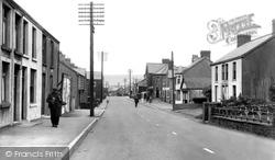 Gwaun-Cae-Gurwen, Church Street, Cwmgors c.1955
