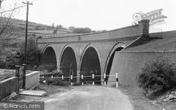 Gwaun-Cae-Gurwen, The Viaduct c.1955