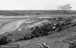 Gwbert-on-Sea, From Poppit Caravan Site c.1965