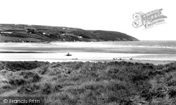 Gwbert-on-Sea, Poppit Sands 1956