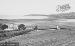 Gwbert-on-Sea, Teifi Estuary And Cardigan Bay c.1960