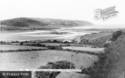 Gwbert-on-Sea, Teifi Estuary And Poppit c.1965
