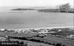 Gwbert-on-Sea, The Caravan Site, Poppit c.1960, Gwbert