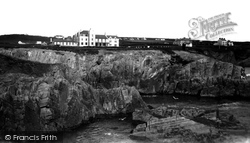 Gwbert-on-Sea, The Cliff Hotel c.1940