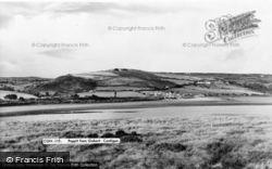 Gwbert-on-Sea, View Towards Poppit c.1960, Gwbert