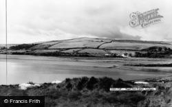 Gwbert-on-Sea, View Towards Poppit c.1960
