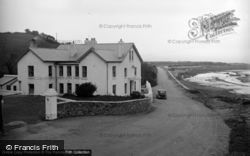 Gwbert-on-Sea, Webley Hotel, Poppit c.1955, Gwbert