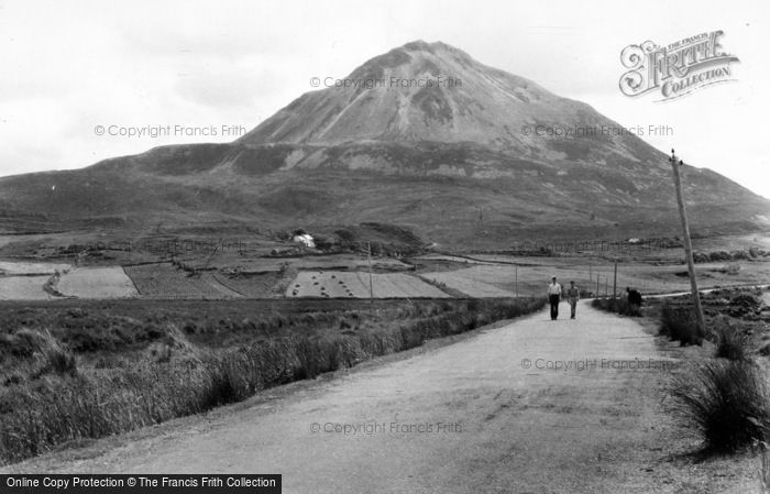 Photo of Gweedore, Errigal Mountain c.1950