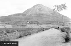Errigal Mountain c.1950, Gweedore