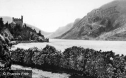 Lough Beagh And Glenveagh Castle c.1950, Gweedore