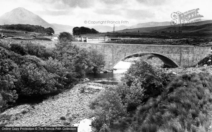 Photo of Gweedore, New Bridge And Dam c.1950