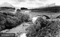 New Bridge And Dam c.1950, Gweedore