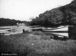Looking Down The River Helford c.1960, Gweek