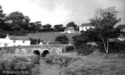 The Bridge c.1960, Gweek