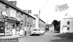 The Post Office And Village c.1960, Gweek