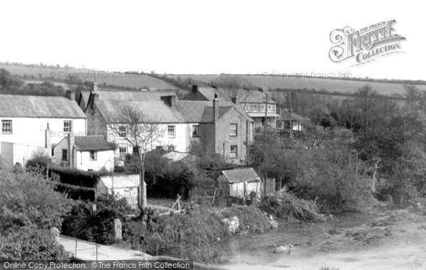 Gweek, Village and Stream c1950