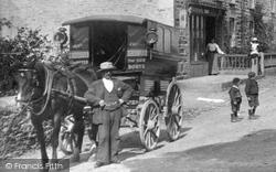 Waggon In The Village 1904, Gweek