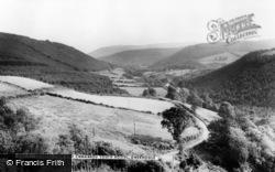 Gwernogle, General View And Cwmwrdu Youth Hostel c.1955