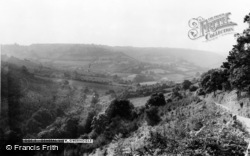 Gwernogle, General View c.1955