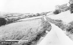 Gwernogle, Mountain Road c.1955