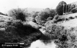 Gwernogle, The River c.1955