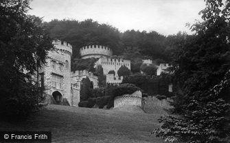 Gwrych Castle, c1875