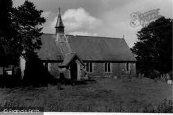 Church Of St Winifred c.1955, Gwytherin