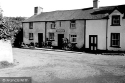 Post Office c.1955, Gwytherin