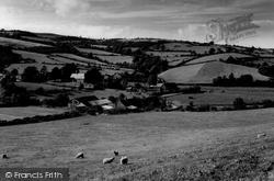 Village c.1955, Gwytherin