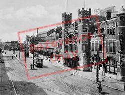 Station c.1930, Haarlem